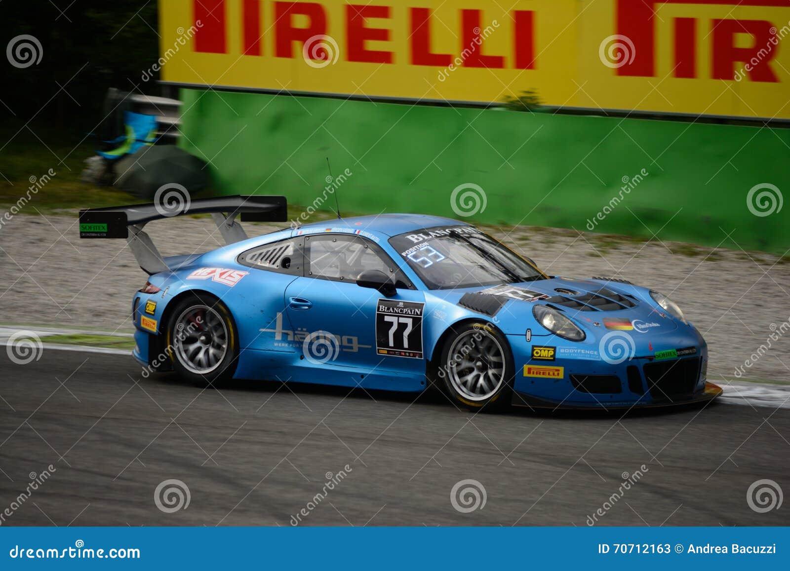 Serie Porsche Di Blancpain GT 911 GT3 R Che Corre A Monza