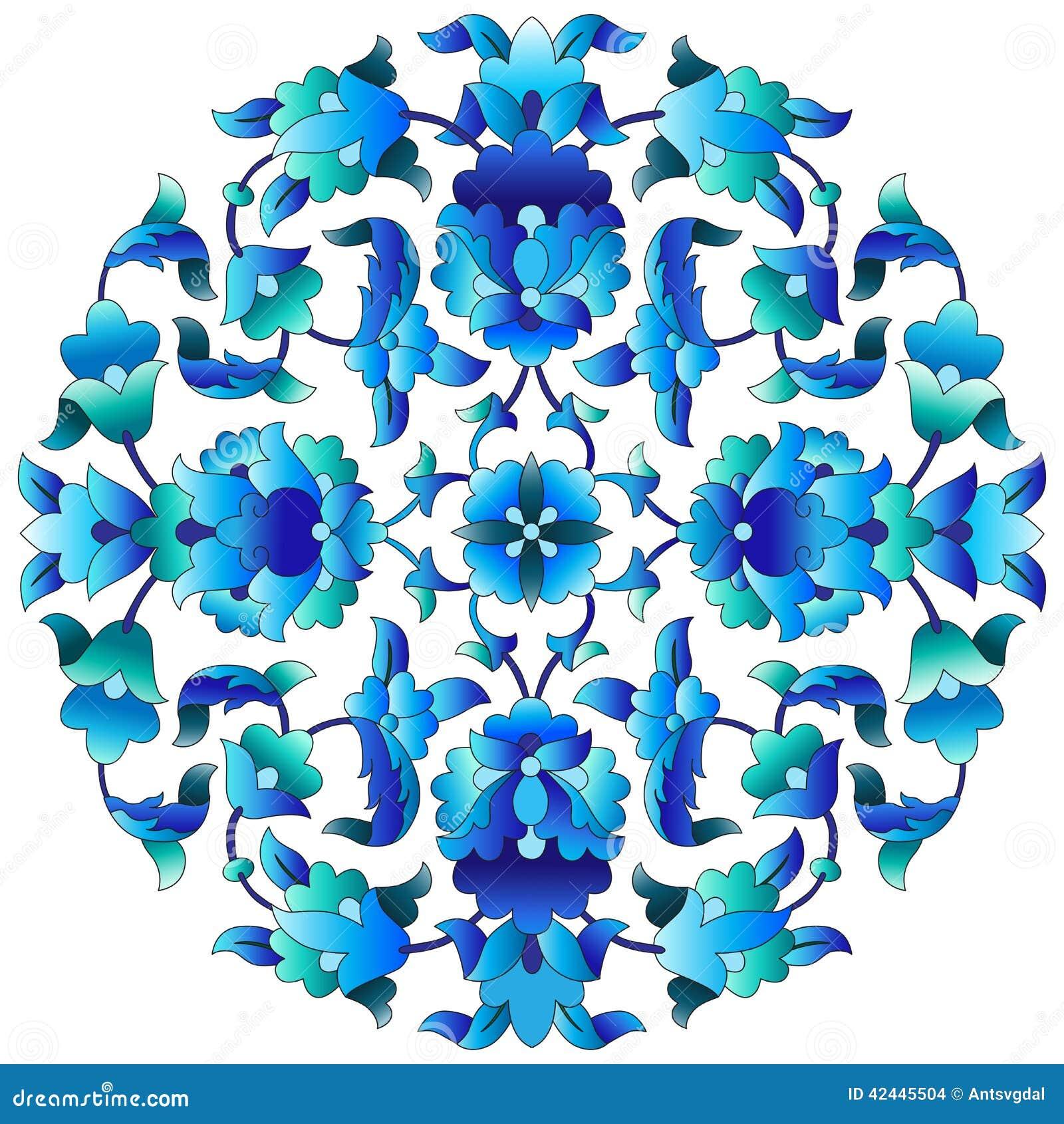 Serie sesenta y tres del diseño de los adornos del otomano