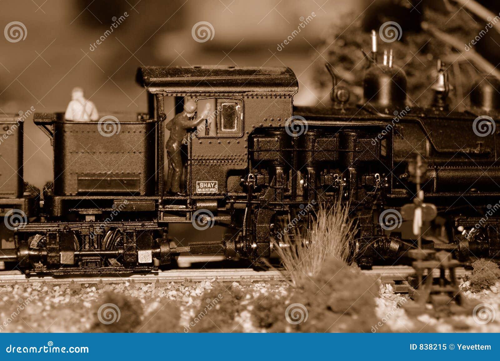 Serien-Motor und Ingenieur