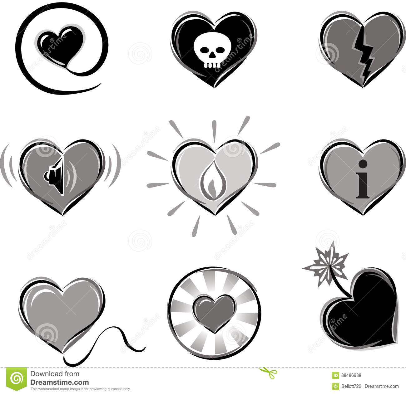 Heart Shaped Symbols Images Meaning Of This Symbol