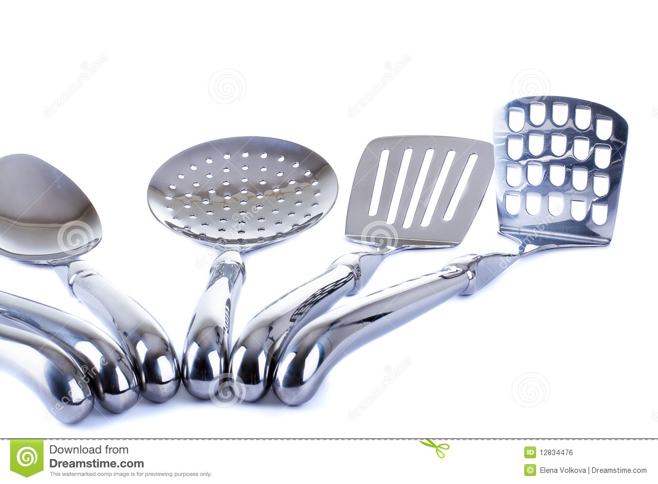 Series Of Images Of Kitchen Ware Kitchen Tools Royalty Free Stock Image Image 12834476