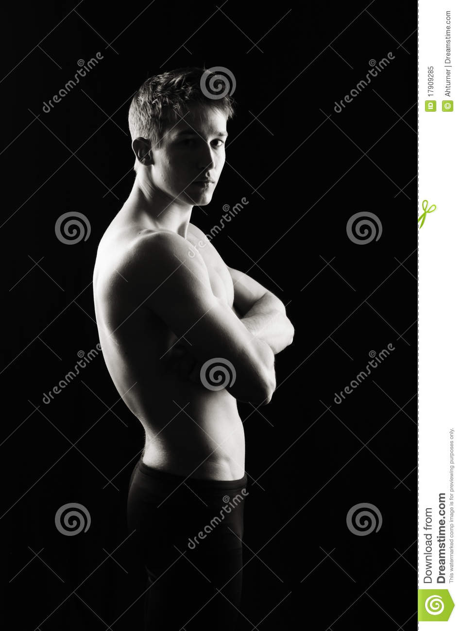 Serious Fitness Man Royalty Free Stock Photo