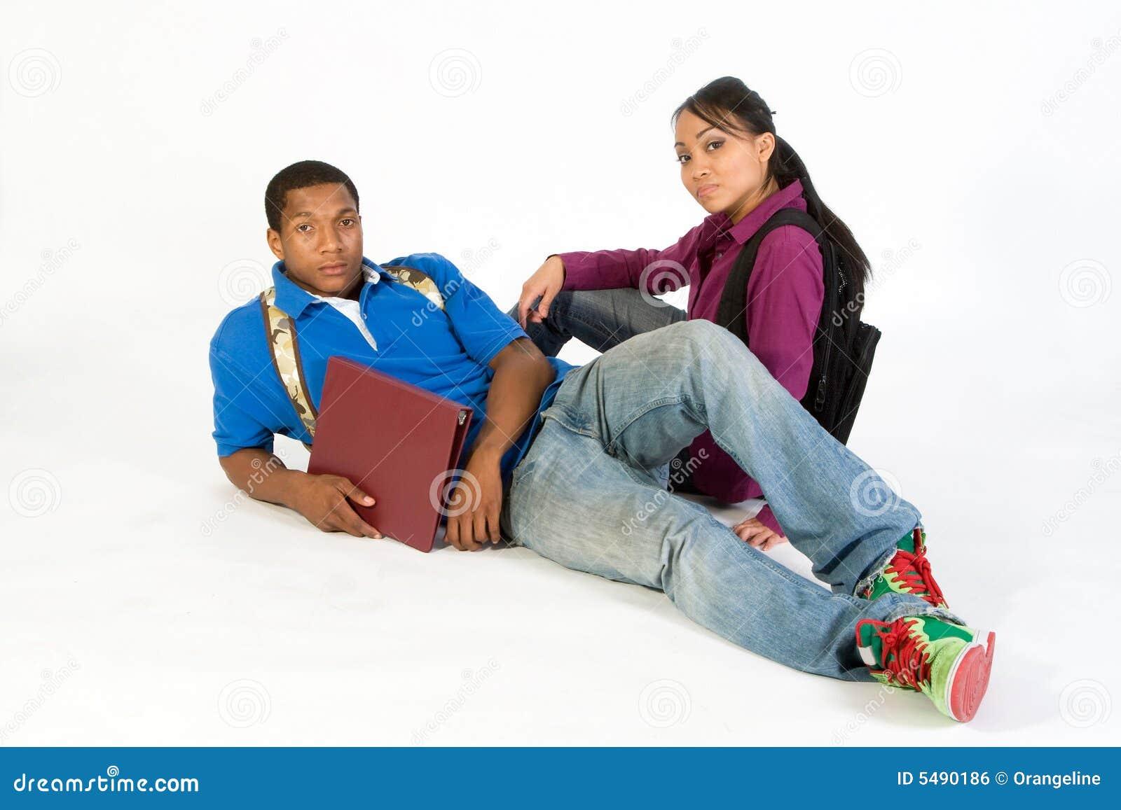 Serious Students- Horizontal