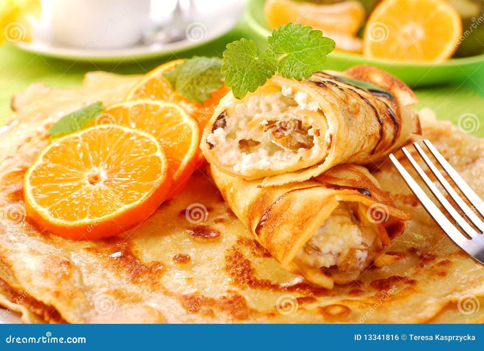 Serowi chałupy pomarańcze bliny
