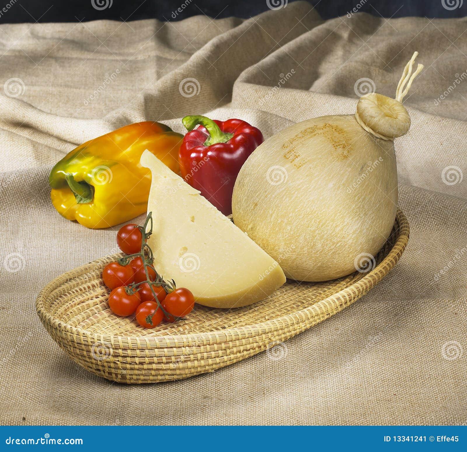 Serowy włoski provola