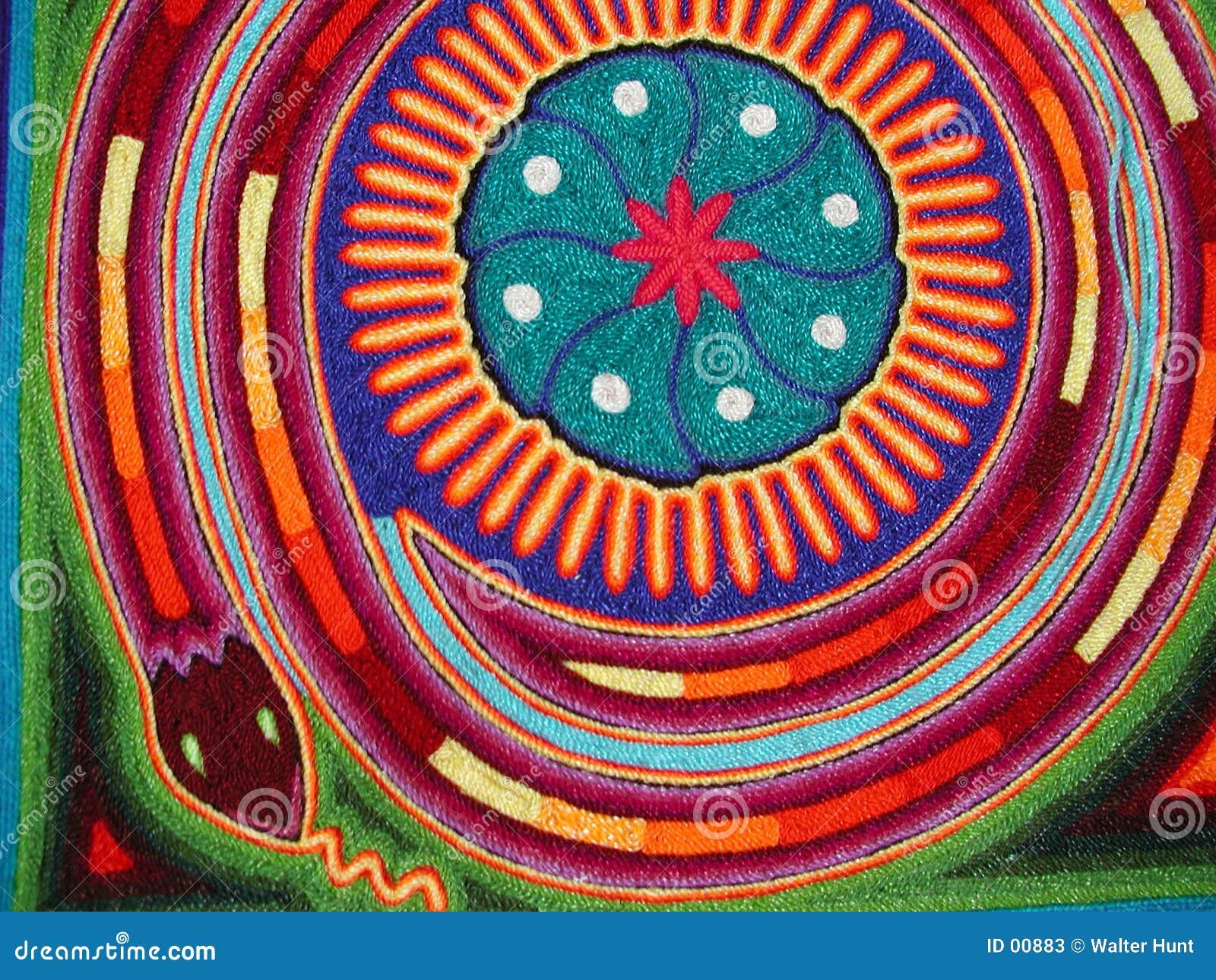 Serpent de Huichol