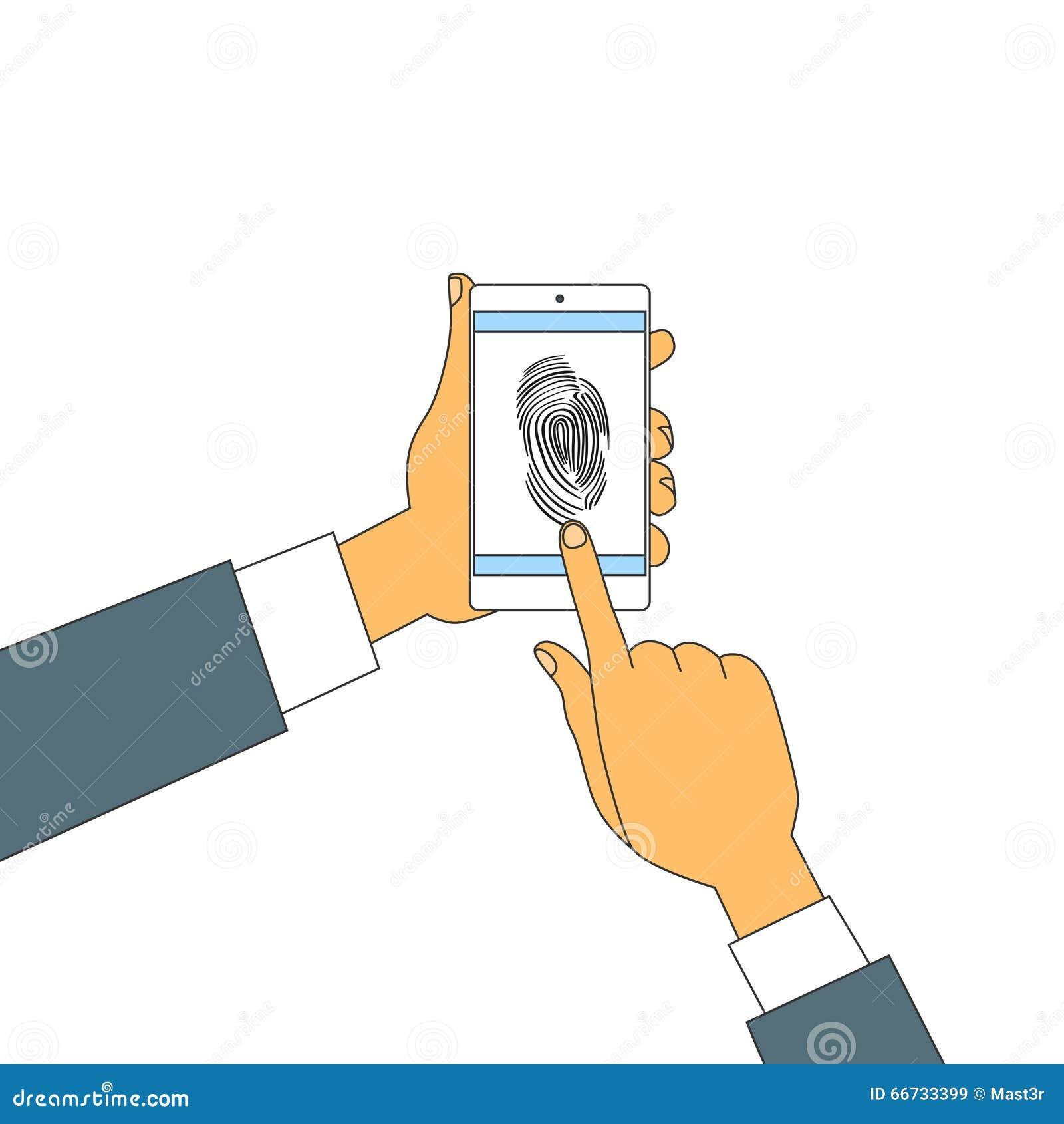 Serratura di Access dello Smart Phone dell impronta digitale, sicurezza di ricerca delle mani dell impronta digitale del touch sc