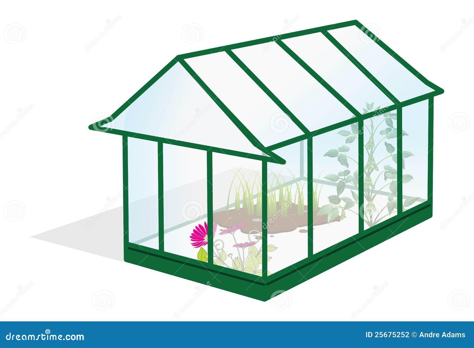 serre chaude photographie stock image 25675252. Black Bedroom Furniture Sets. Home Design Ideas