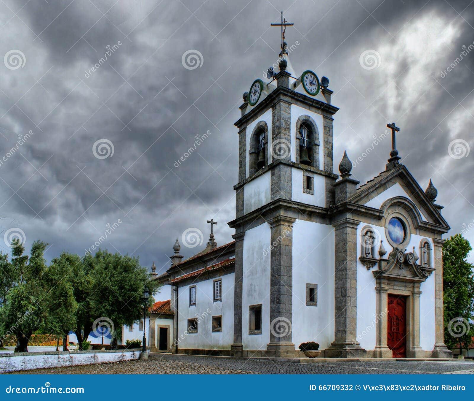 Serreleis church in Viana do Castelo