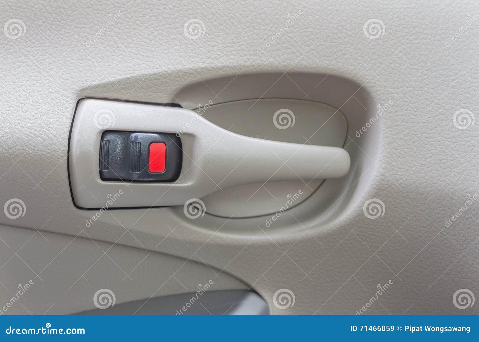 serrure de porti re de voiture image stock image du objets image 71466059. Black Bedroom Furniture Sets. Home Design Ideas