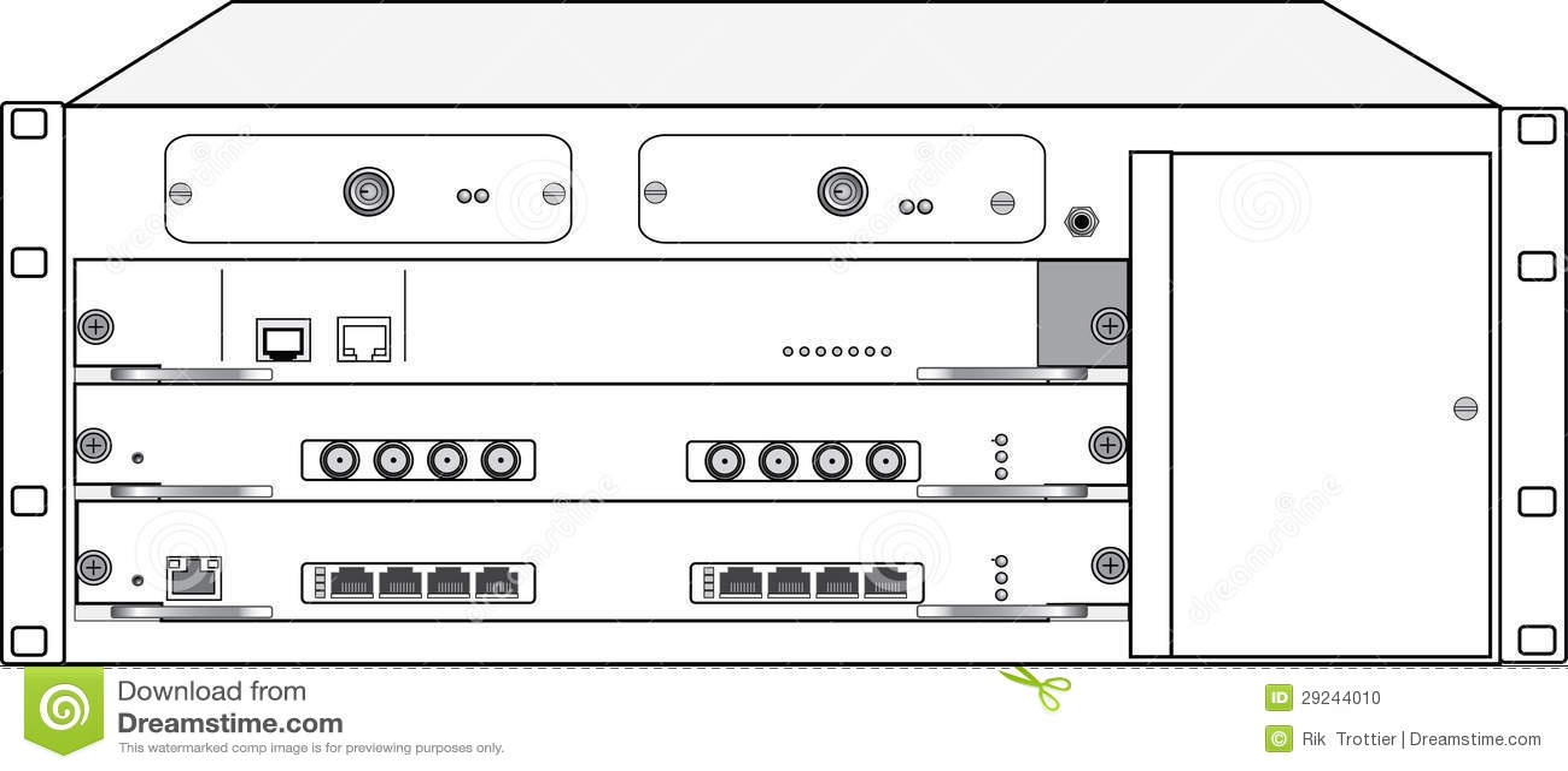 Download Server foto de stock. Imagem de componentes, internet - 29244010