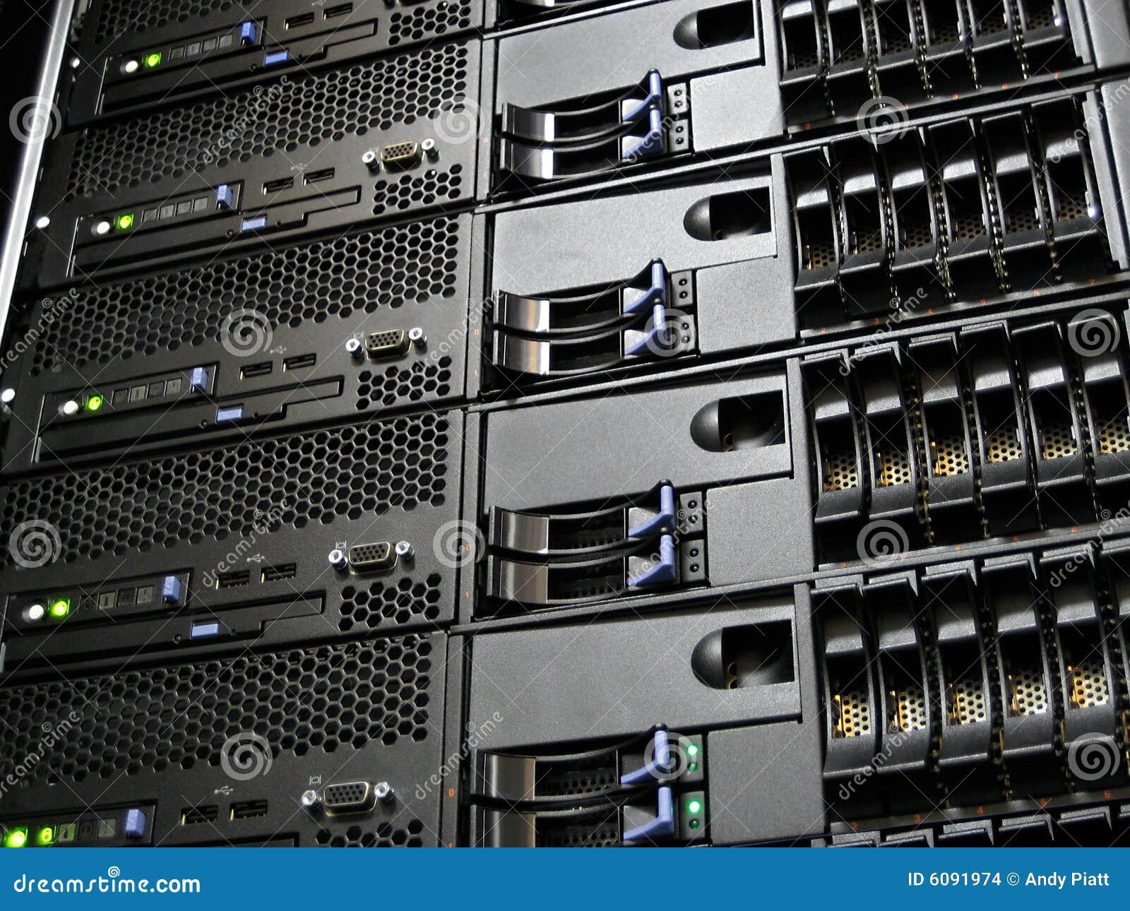 Server do computador do centro de dados