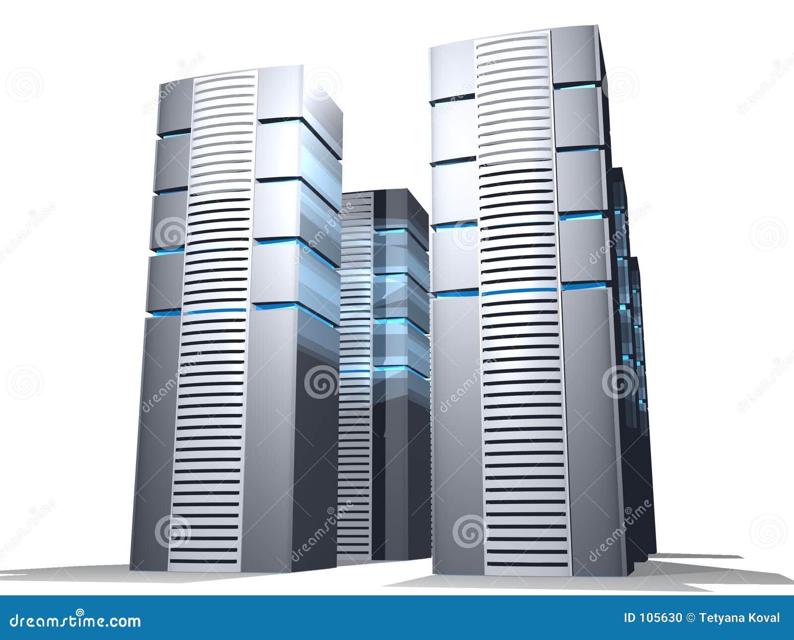 how to build a server farm