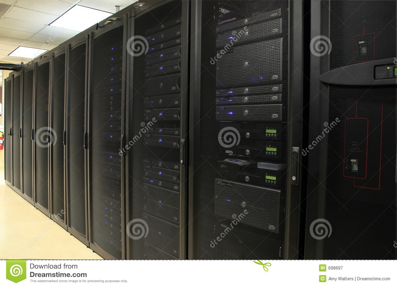 Images Royalty Free Server Room