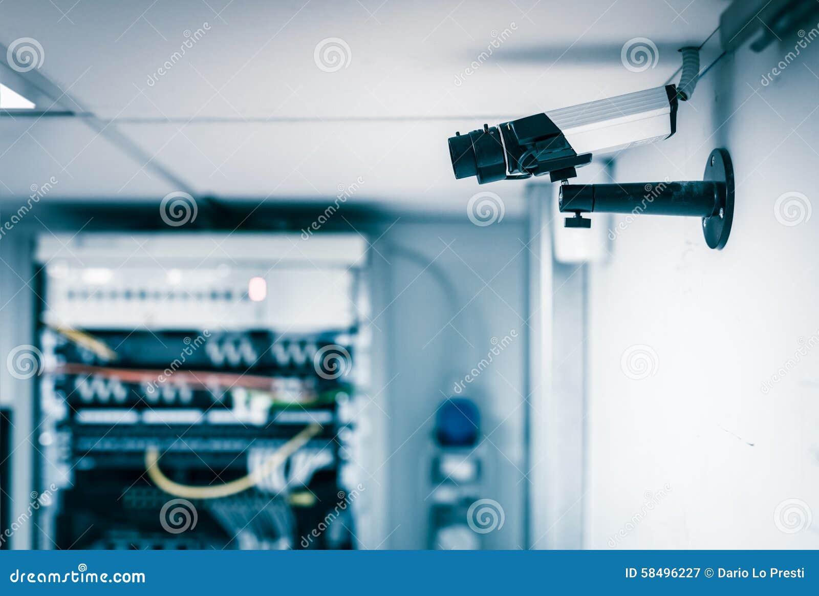 Server farm security camera