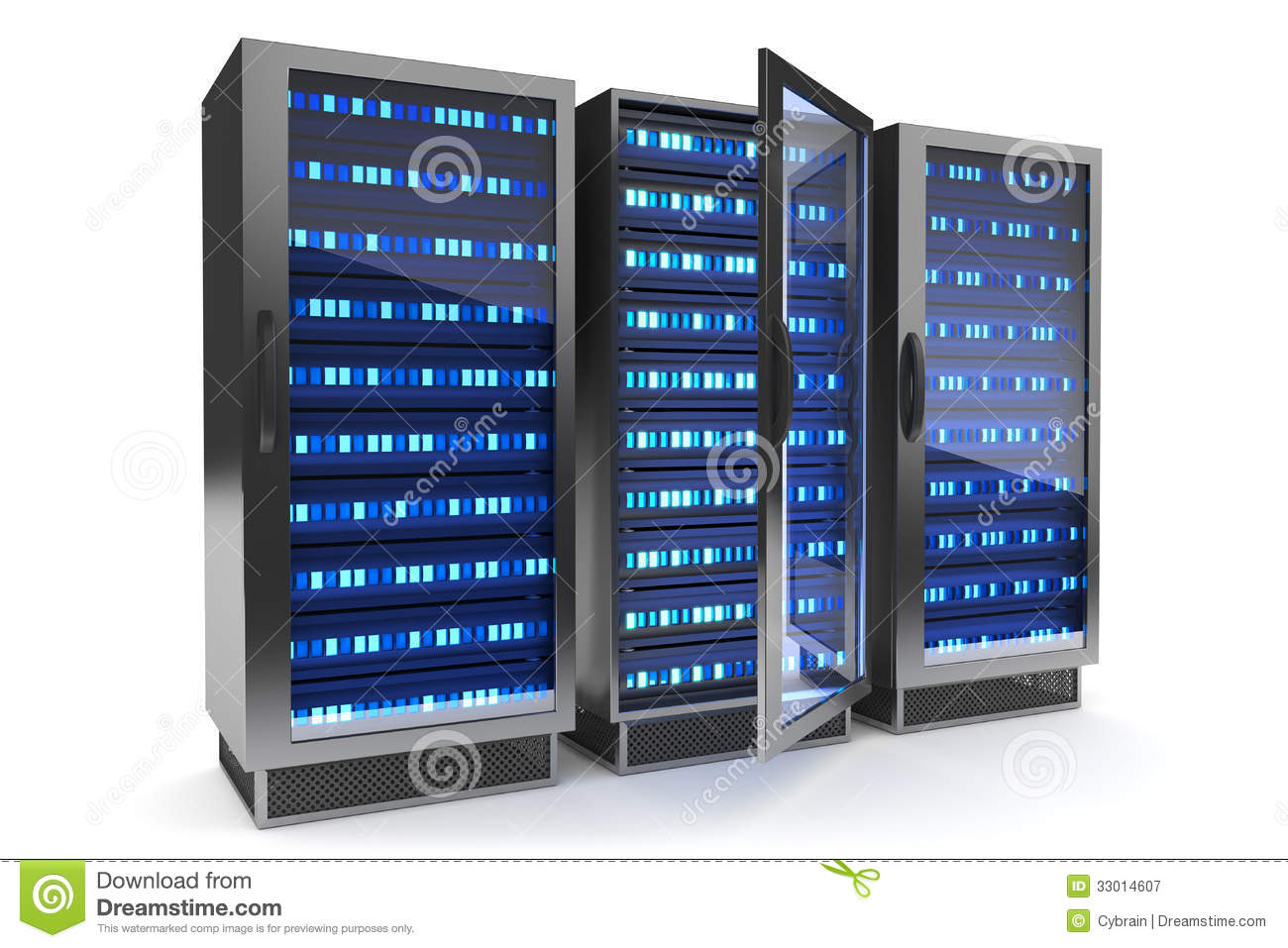 Server Rack Icon Royalty Free Stock Photography Image