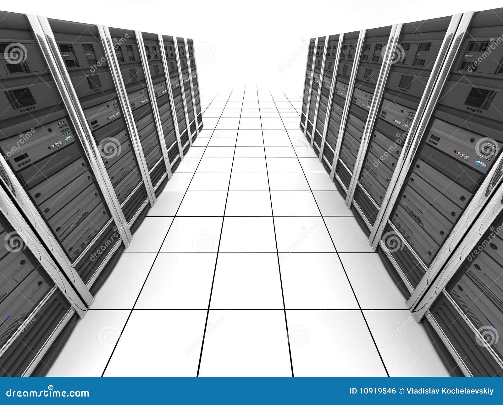 Server-Raum (Ansichtoberseite)