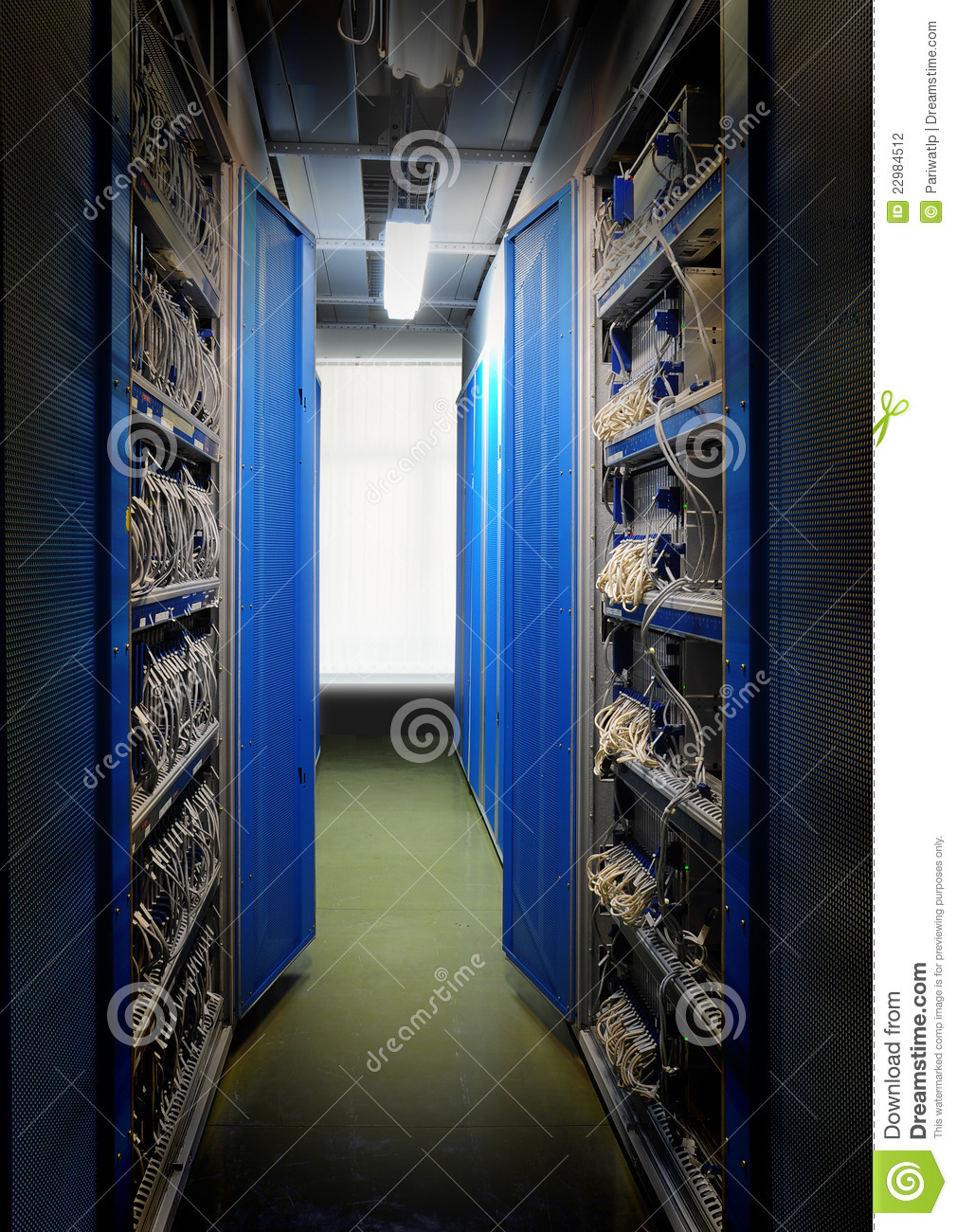 Server Room Photography : Server room stock photography image
