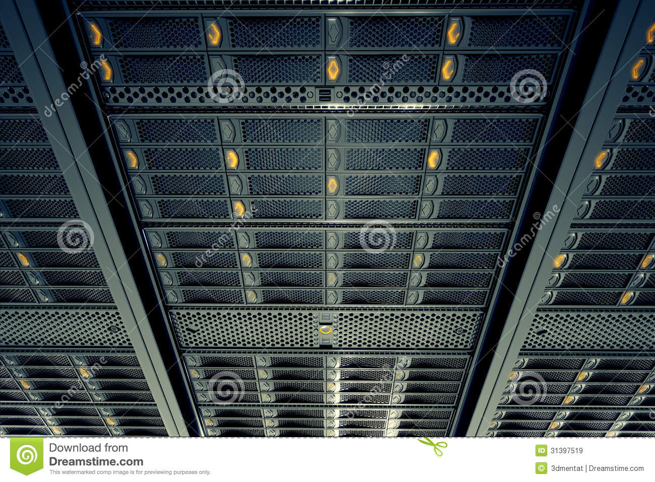 Server Room Lighting : Server room royalty free stock images image