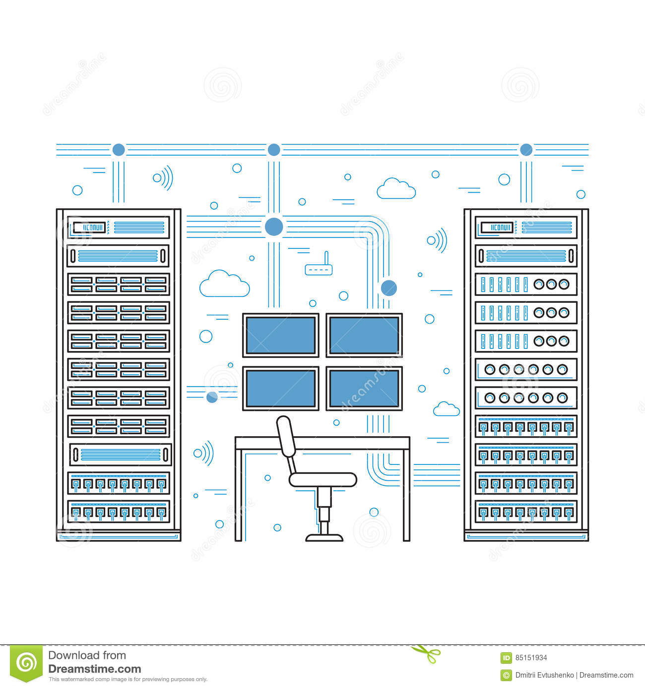Server Room Diagram - Wiring Diagram For Light Switch •