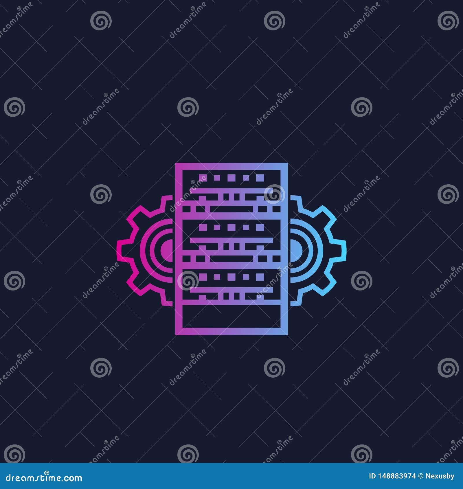 Server, varande värd administration och nätverk