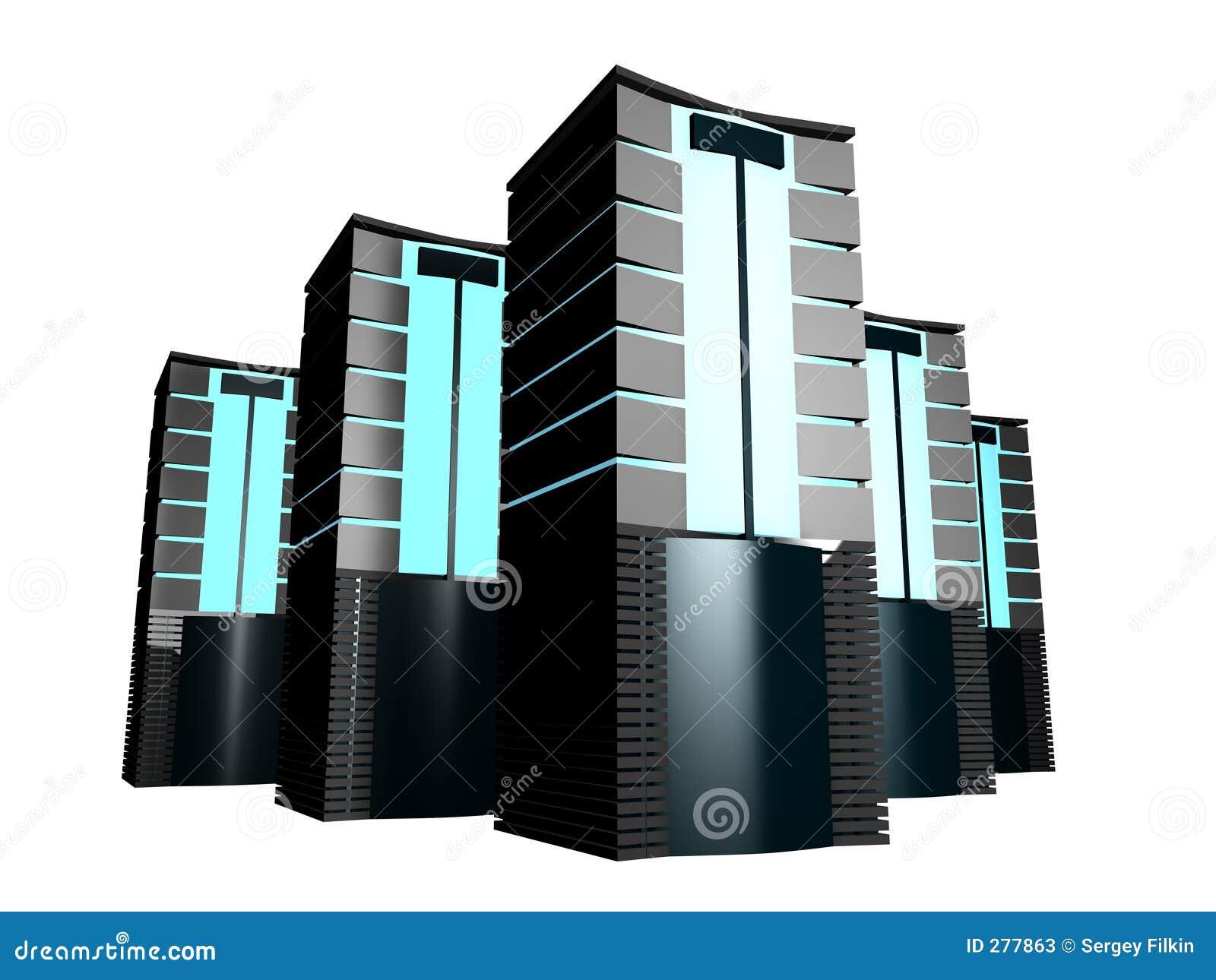 Serveror för grupp 3d