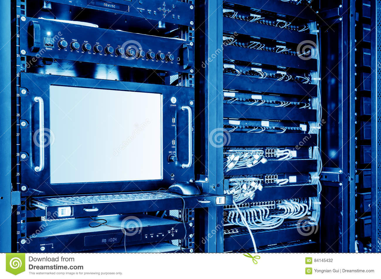 Servers and switches