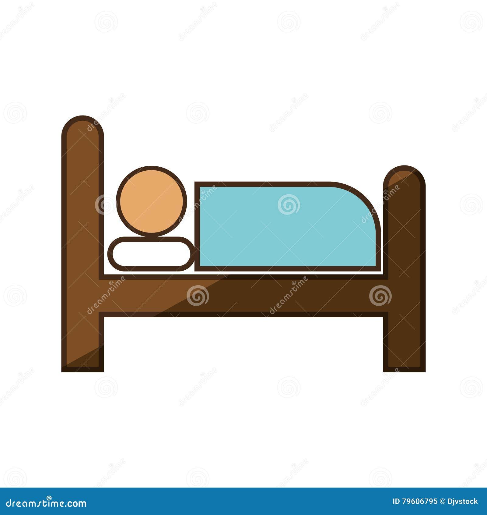 Serviço de hotel do sono da pessoa