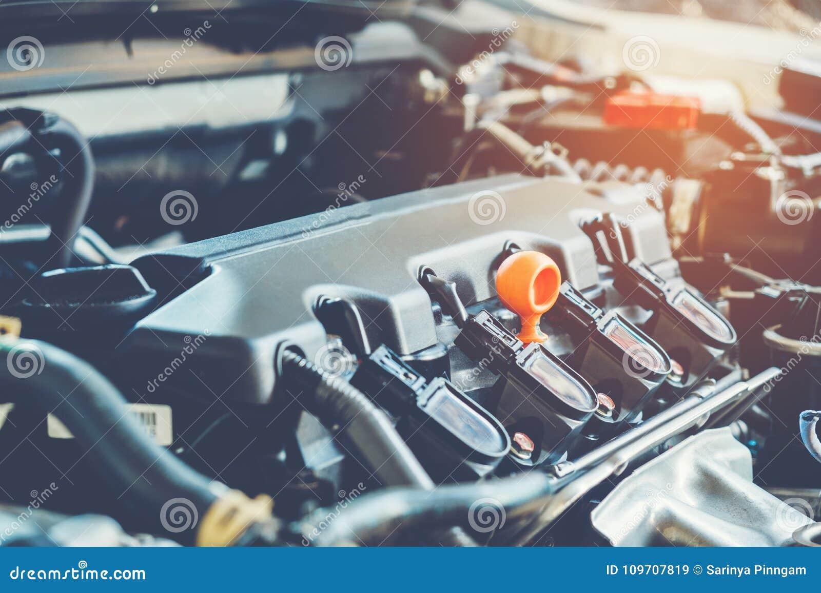 Serviço de reparação de automóveis do mecânico de carro
