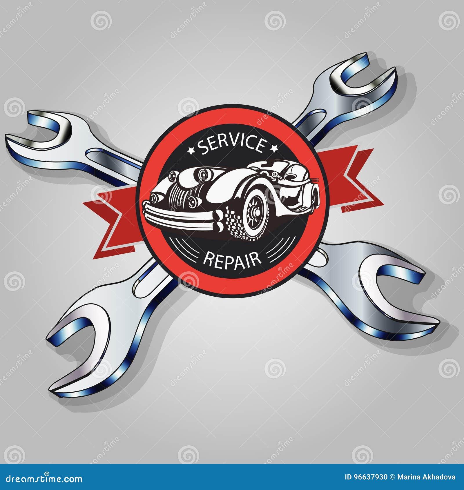 Serviço do carro do vintage