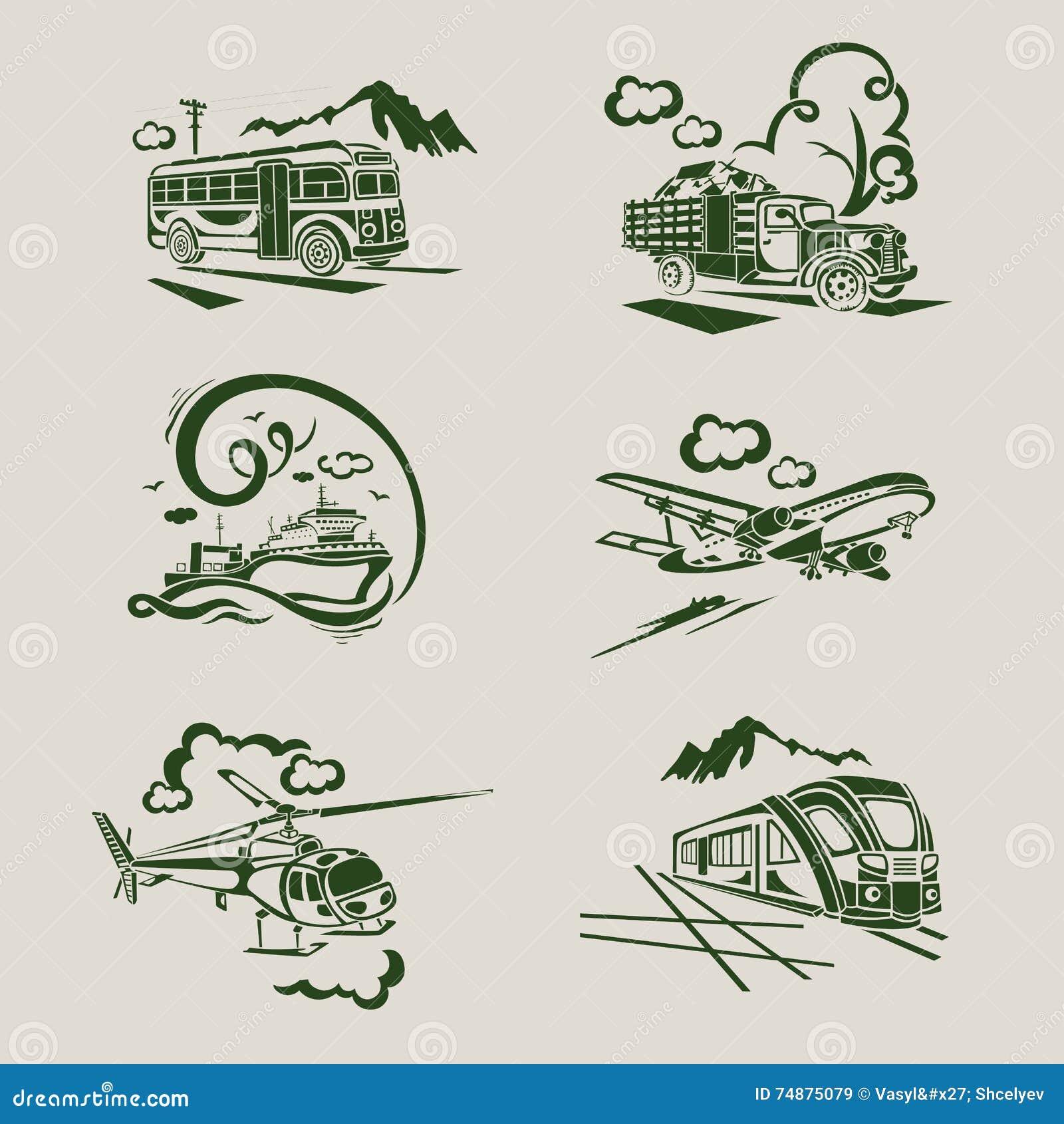 Serviço do transporte