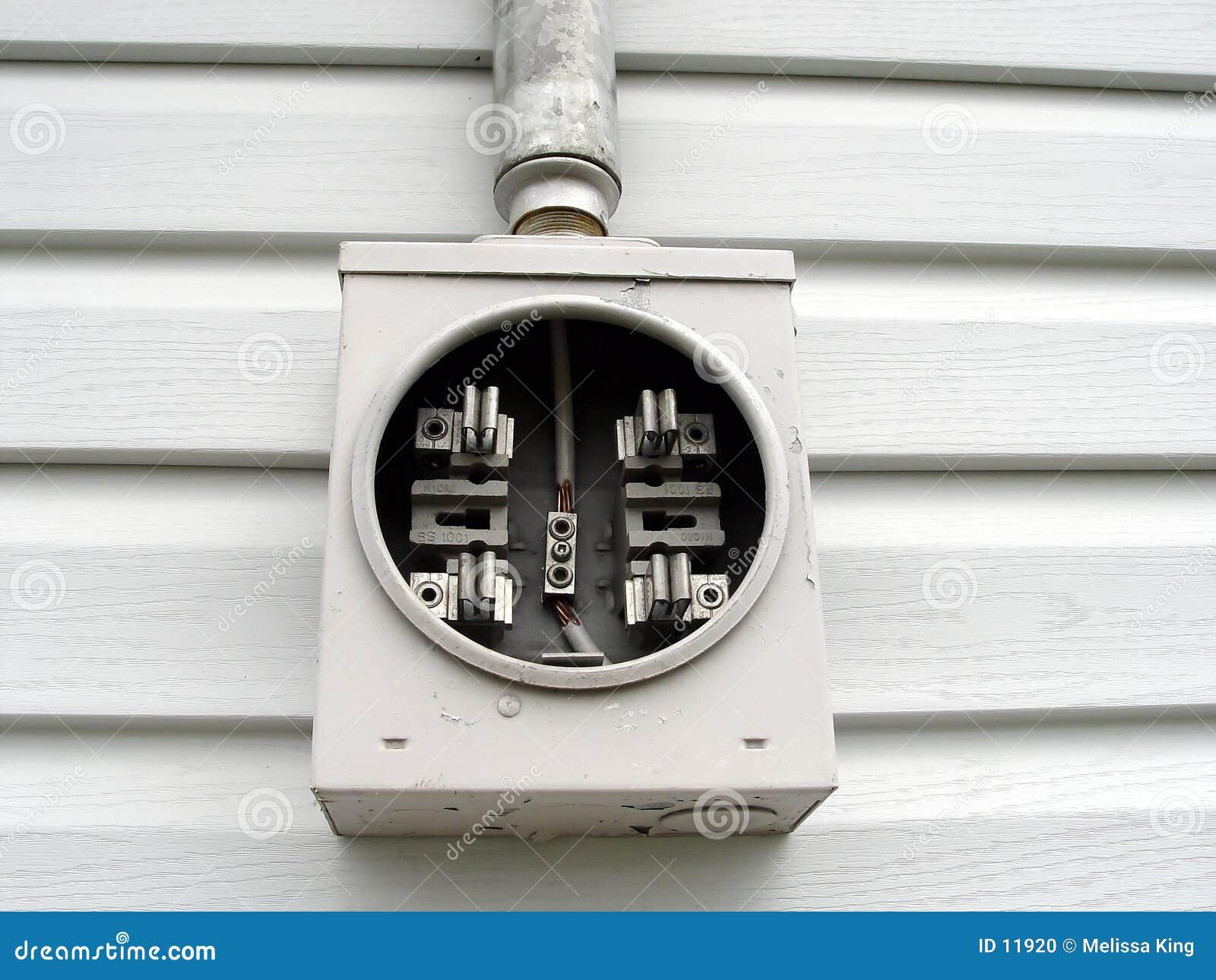 Serviço elétrico na casa