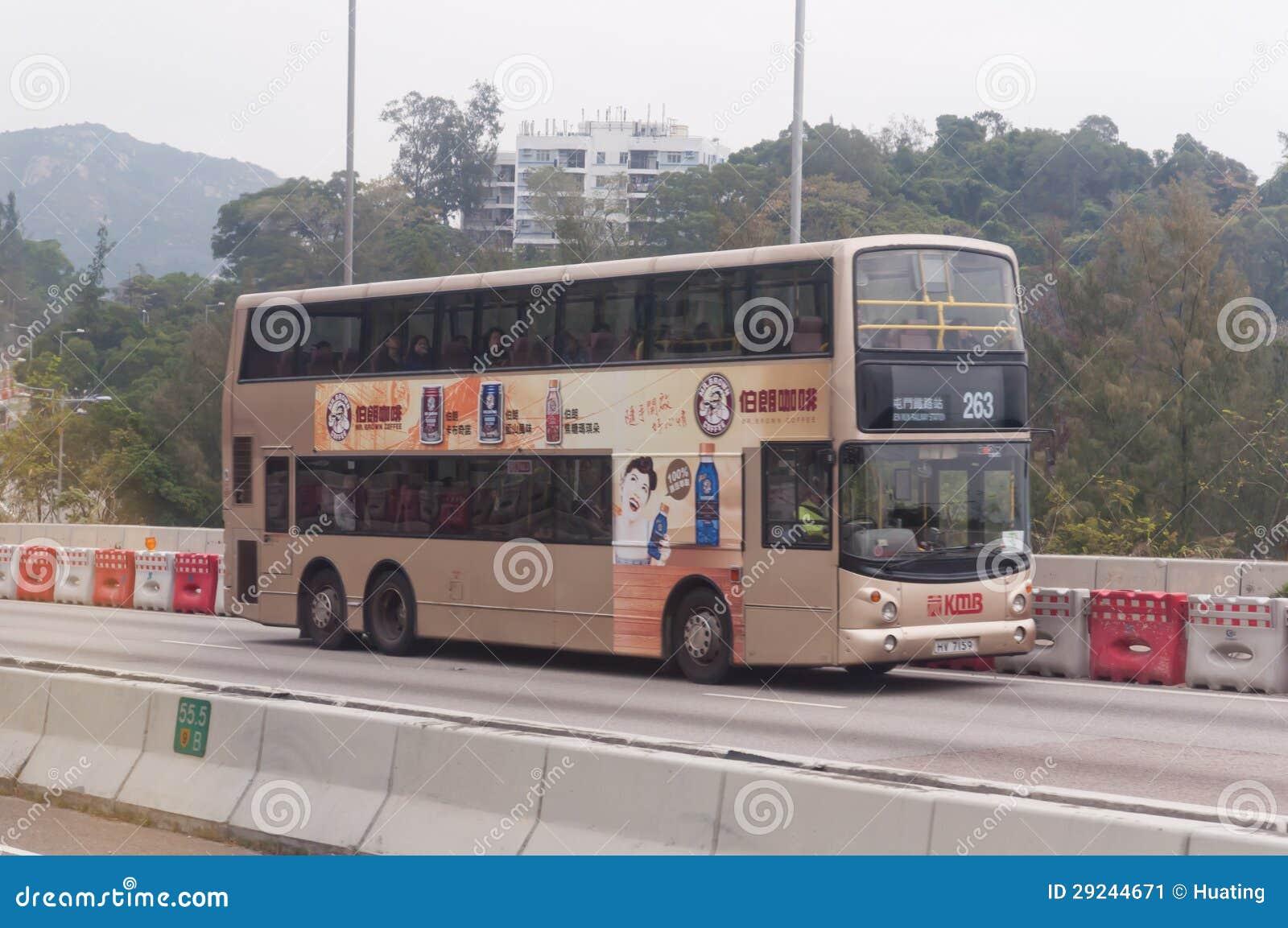 Download Serviços Do Transporte Em Hong Kong Foto Editorial - Imagem de decker, ônibus: 29244671