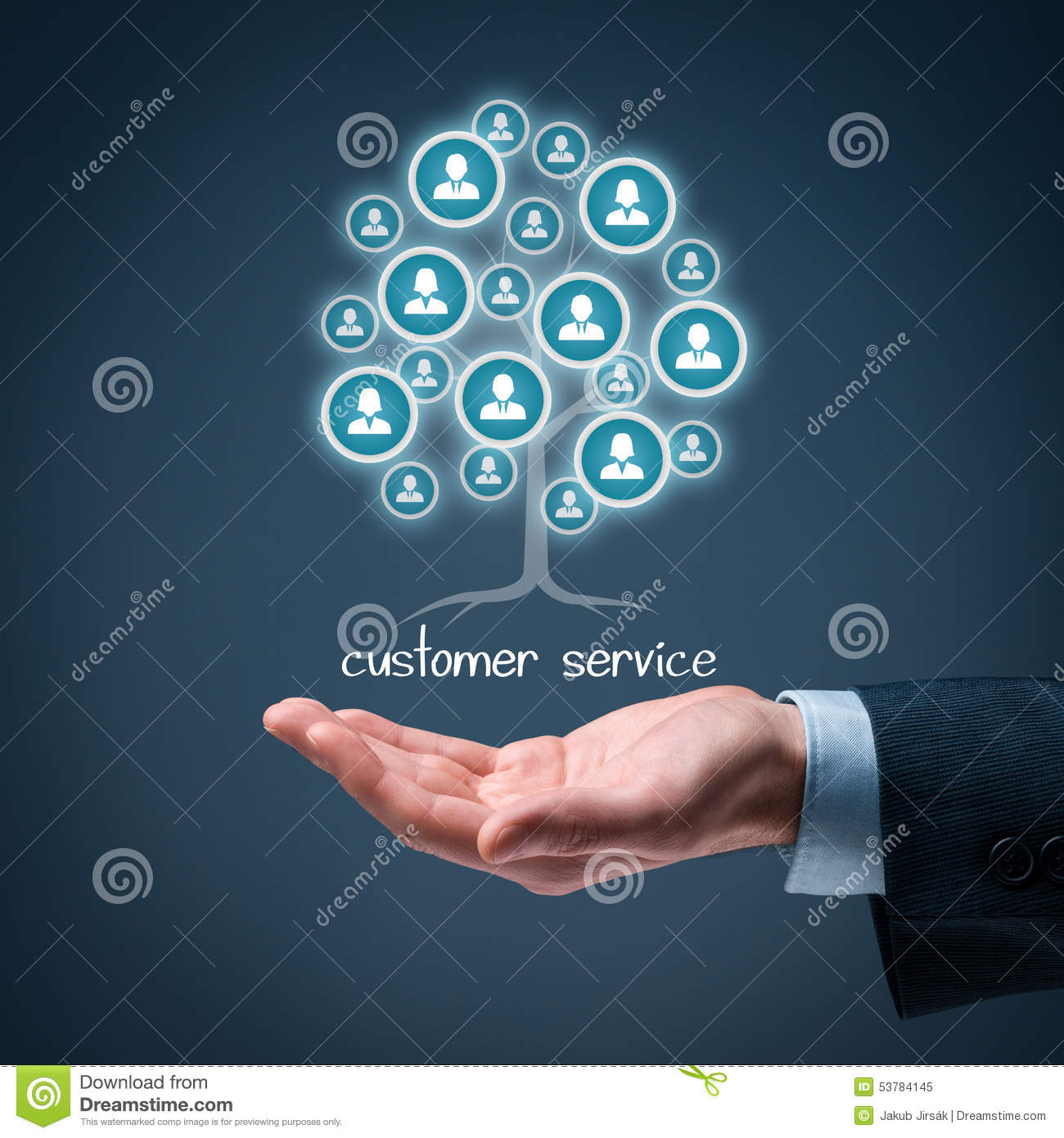 Service la client le photo stock image 53784145 for Domon service a la clientele