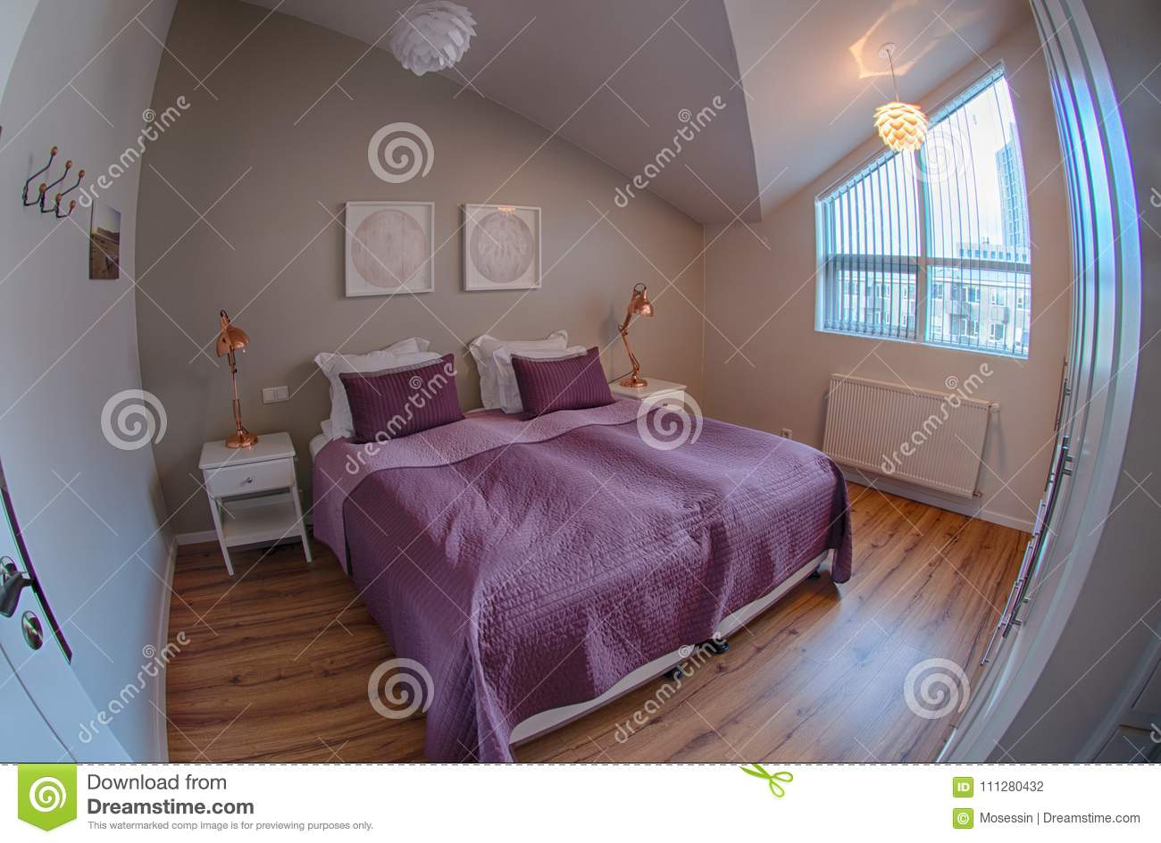 Service Apartment Cozy Bedroom Editorial Photography Image Of Romantic House 111280432