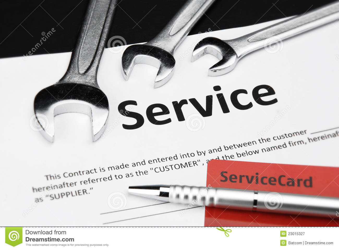 Service Contract Royalty Free Photography Image 23015327 – Service Contract
