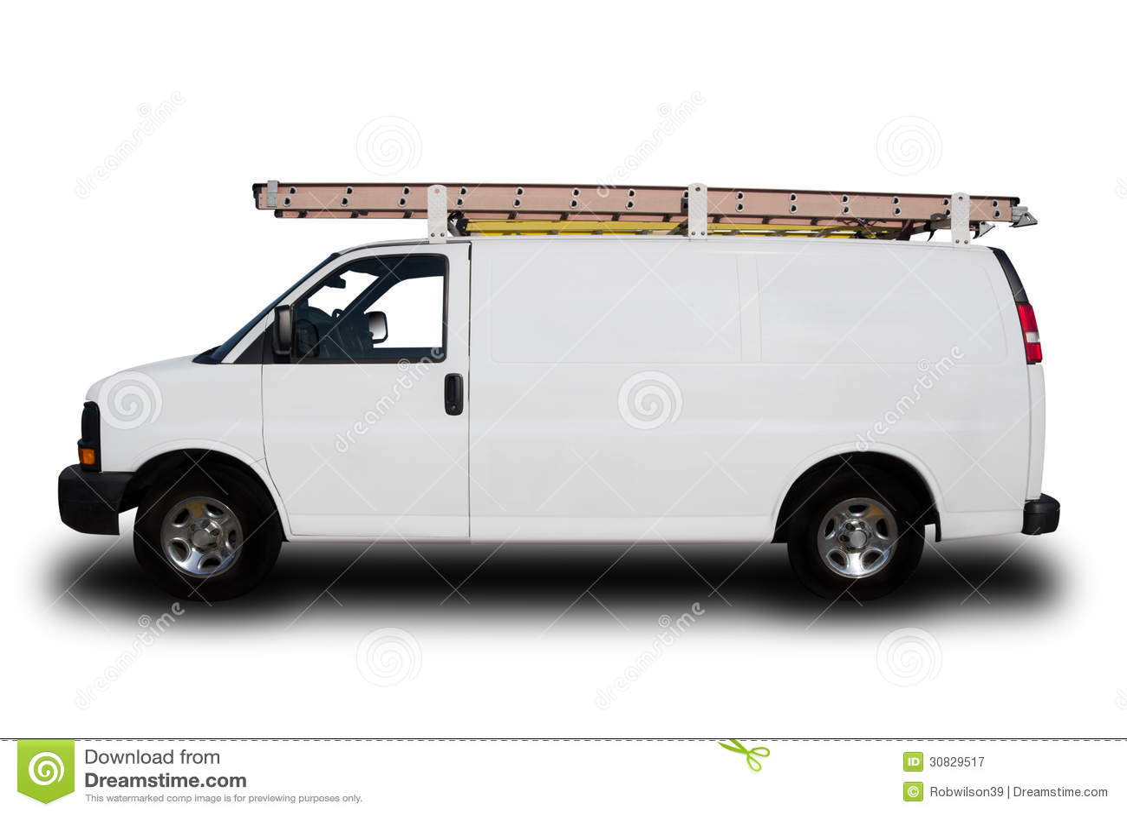 Service Repair Van Royalty Free Stock Photography Image
