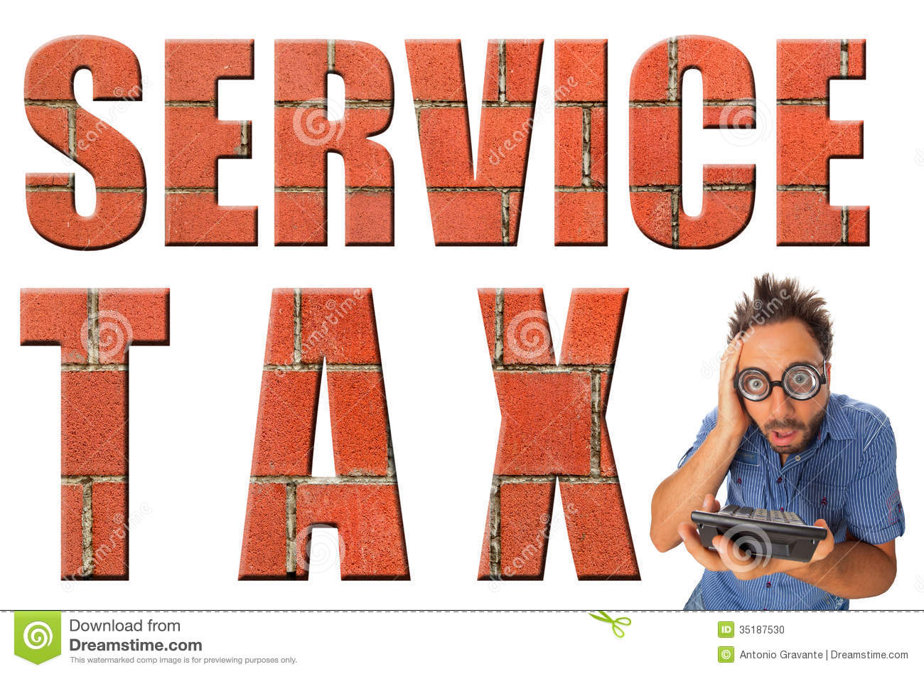 Service Tax Stock Photo - Image: 35187530