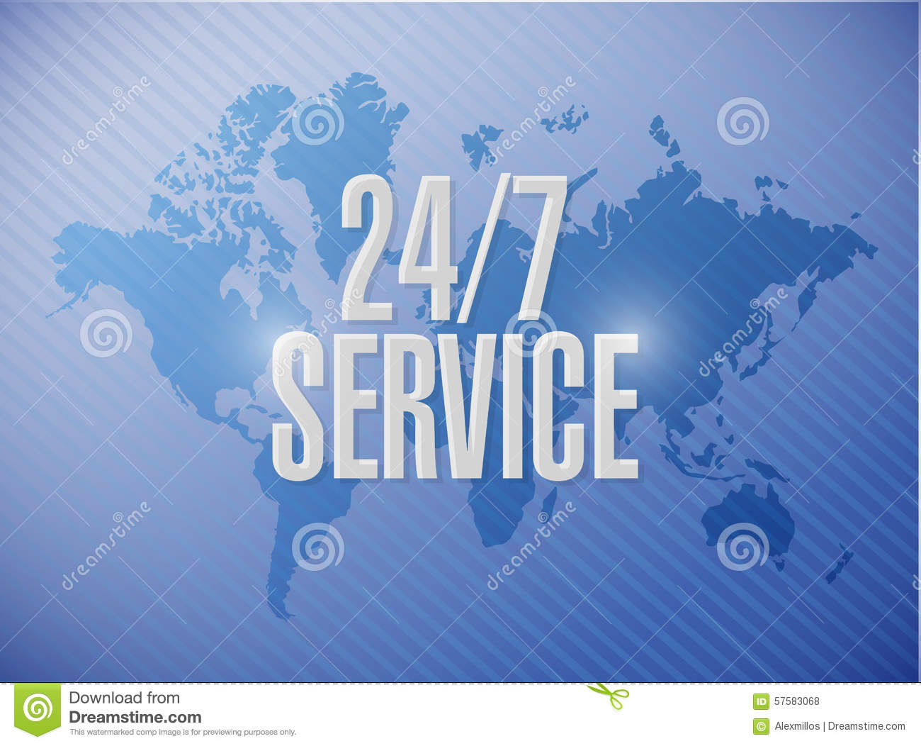 24 7 service world map sign concept stock illustration 24 7 service world map sign concept illustration design icon graphic gumiabroncs Choice Image