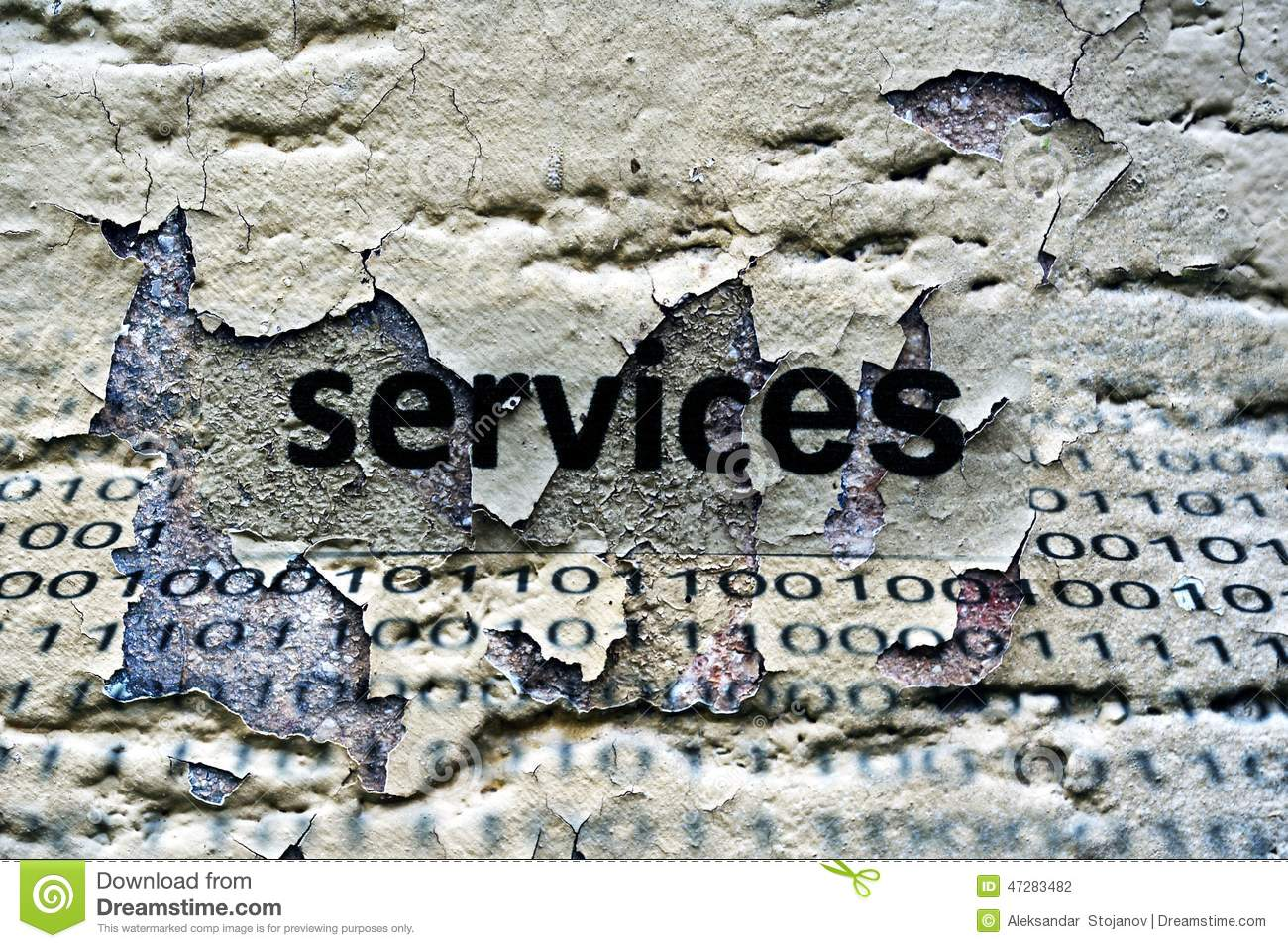 Services text