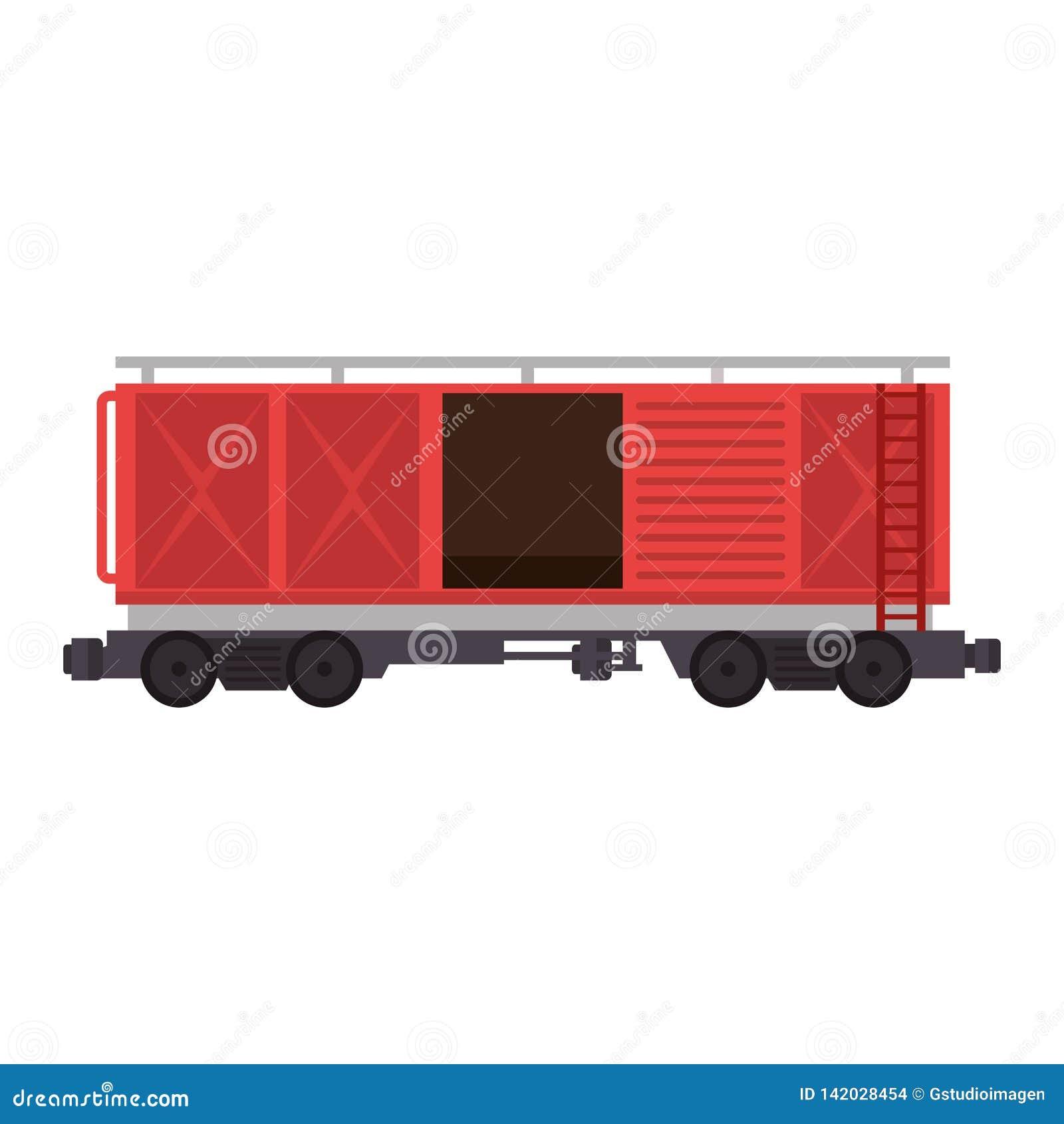 Servicio logístico del carro del tren de carga