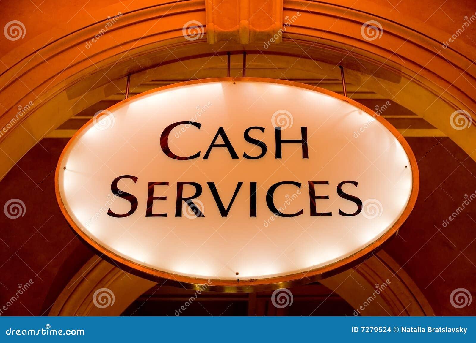 Servicios del efectivo