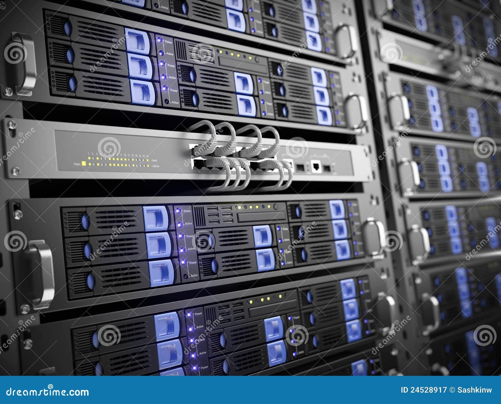 Servidores del ordenador