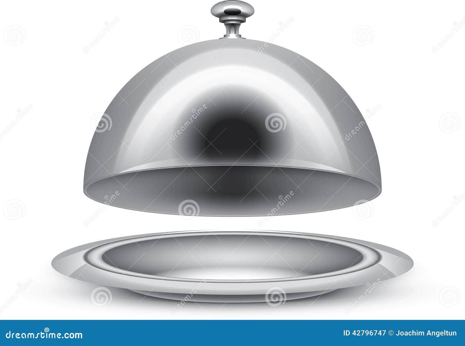 serving platter stock vector illustration of serve metal 42796747