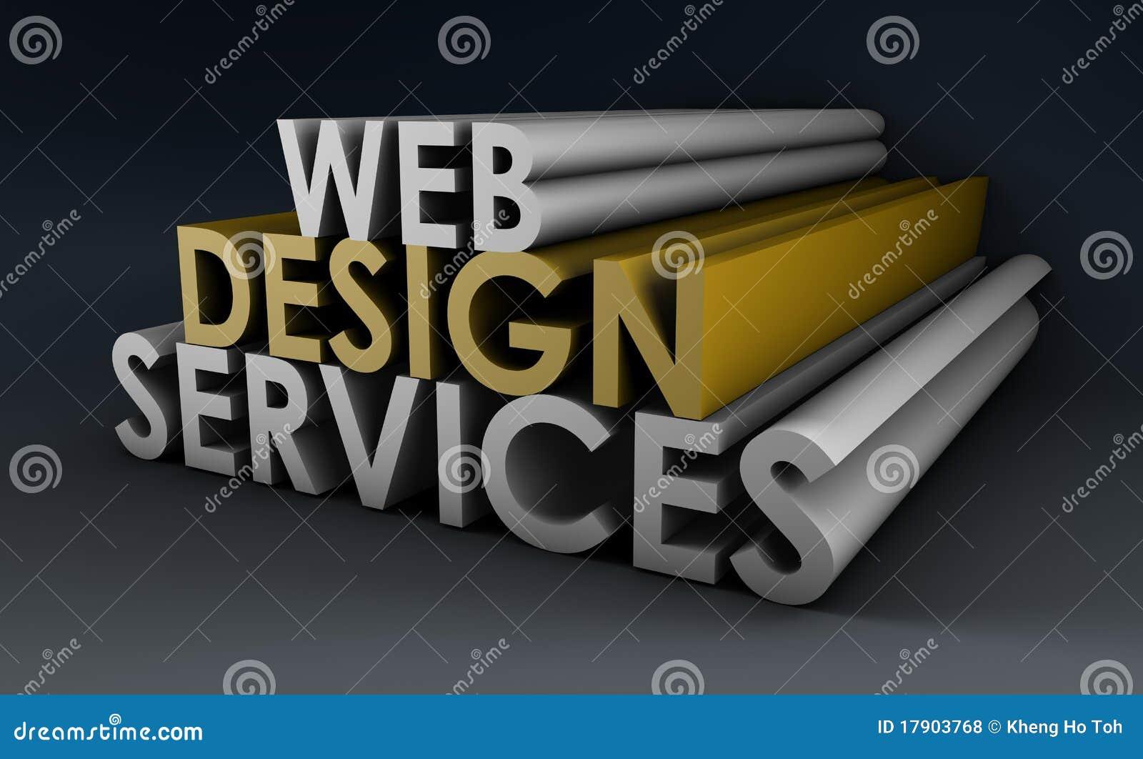 Servizi di disegno di Web