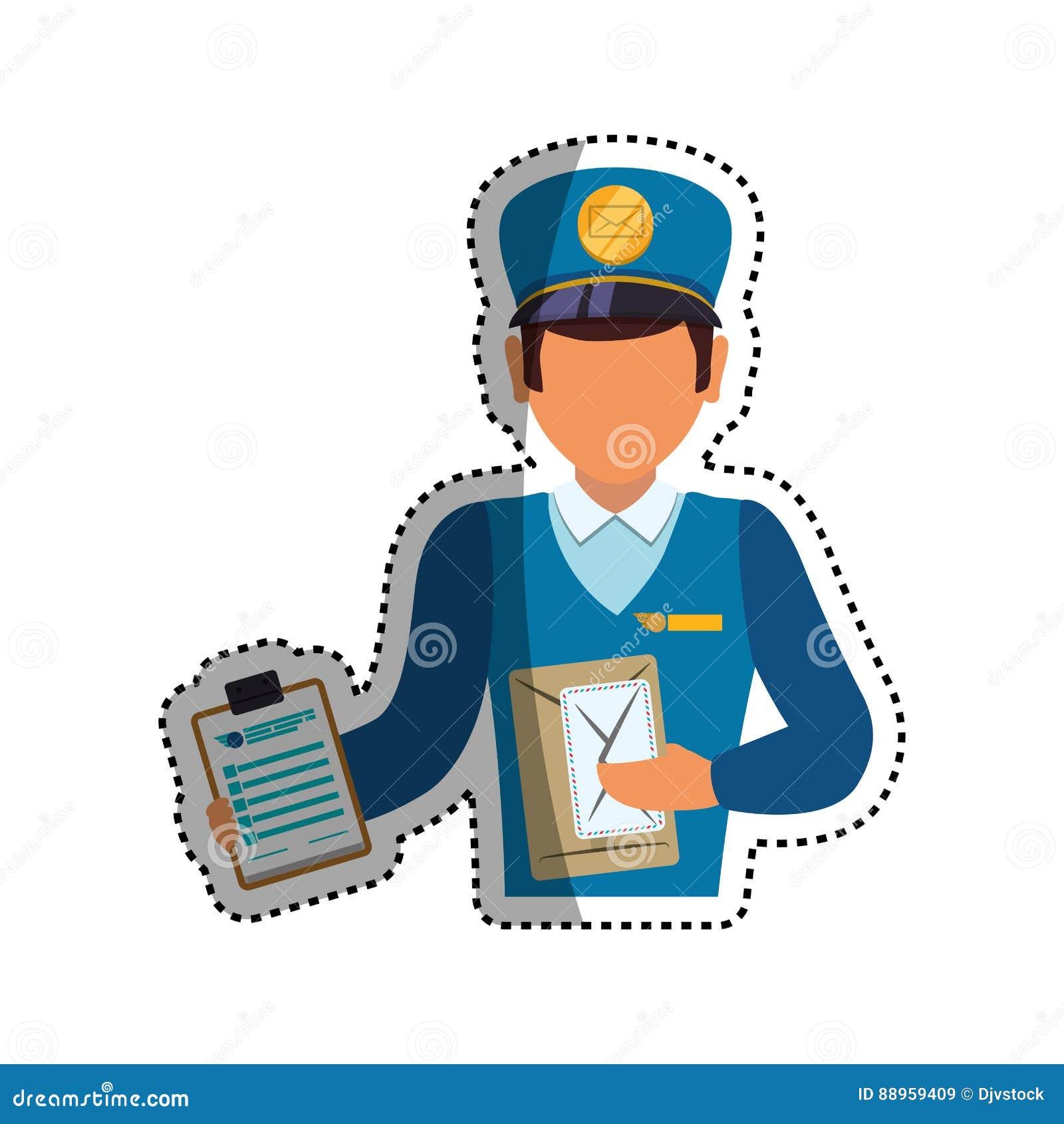 Servizio di distribuzione del postino