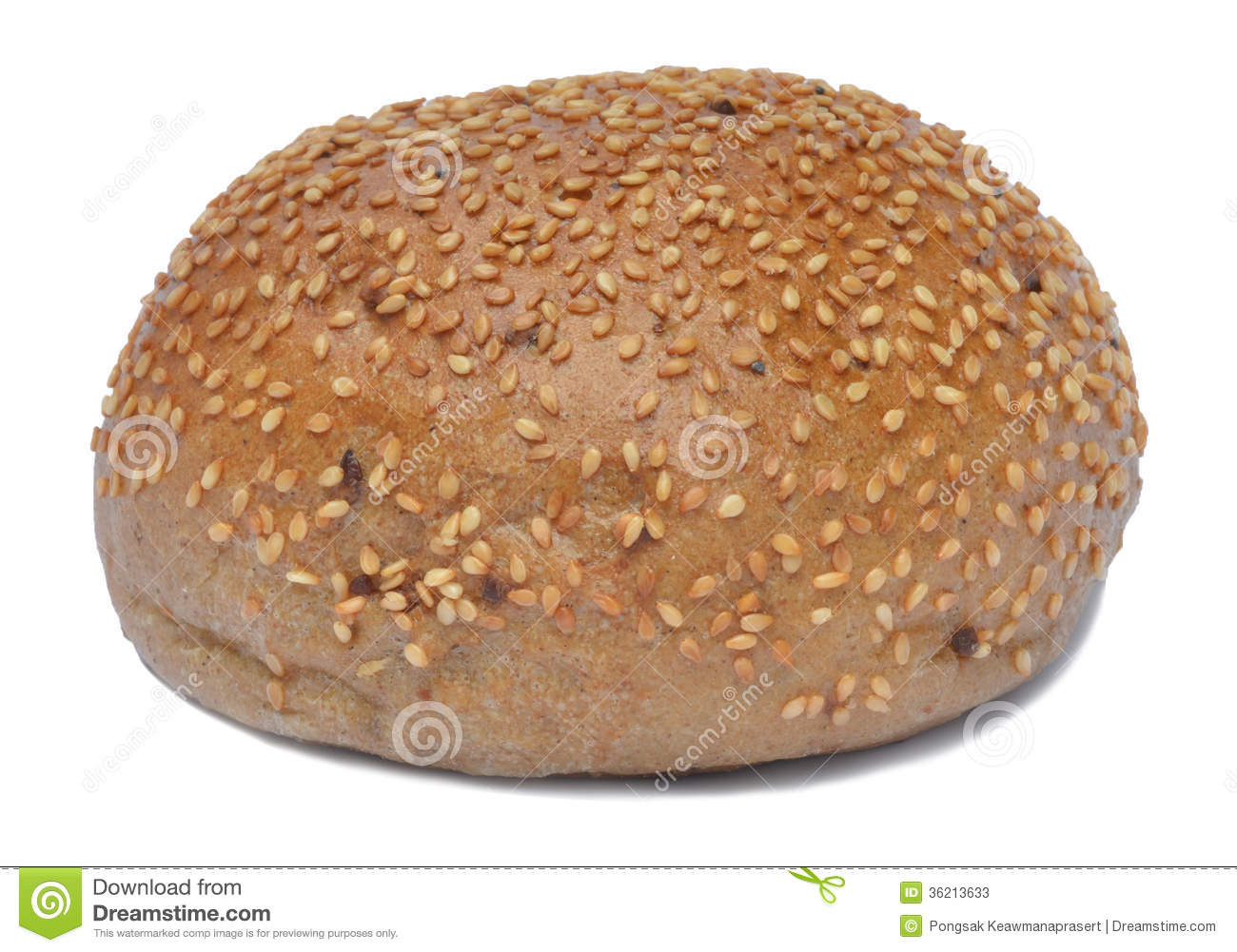 Sesame Bread Stock Photos - Image: 36213633