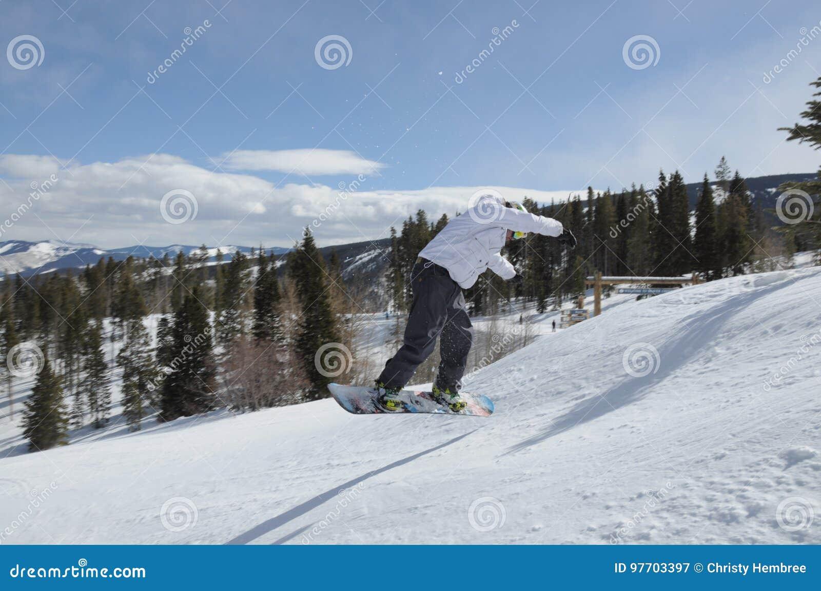 Sessione 2, Beaver Creek, Eagle County, Colorado della neve