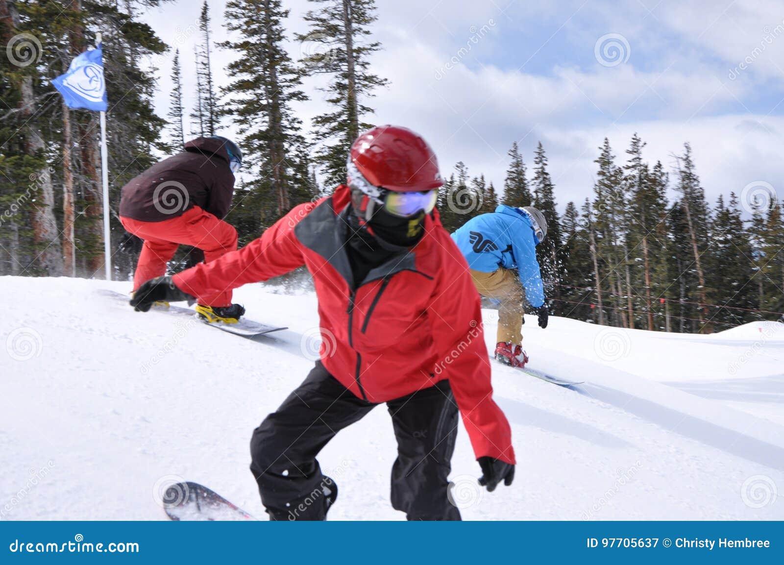 Sessione dolce: Sogno degli Snowboarders, Beaver Creek, località di soggiorno di Vail, Colorado