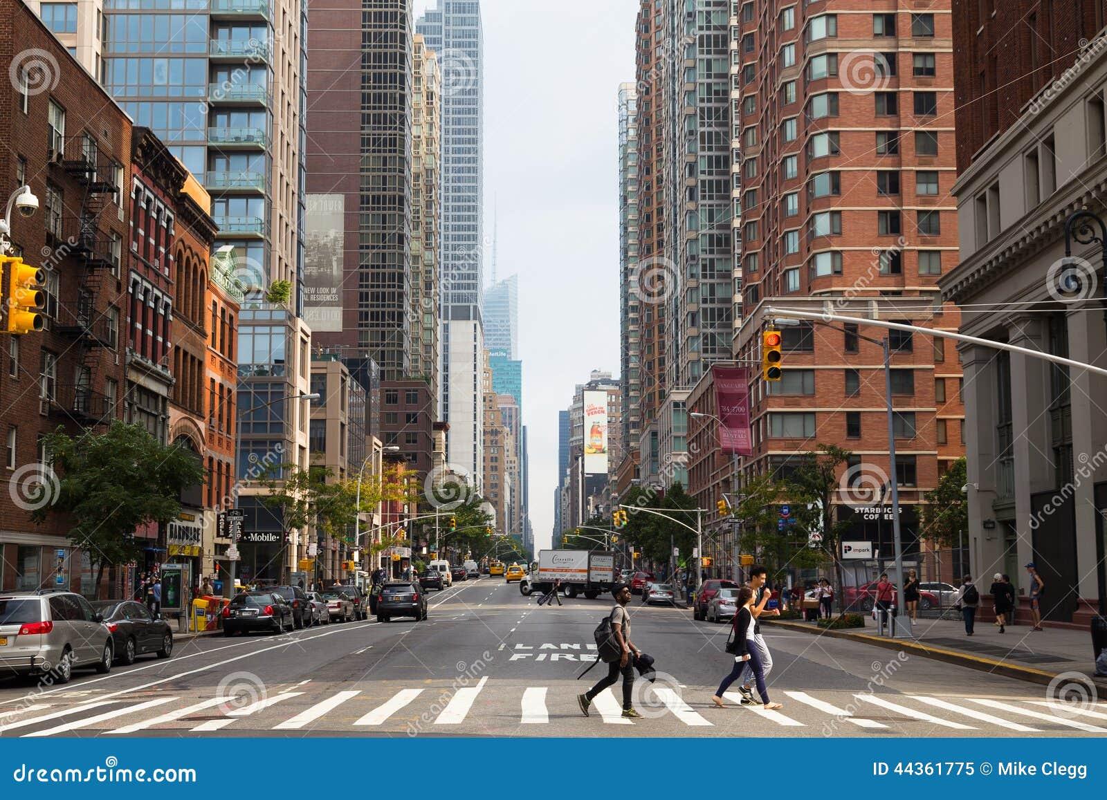Sesto viale - New York